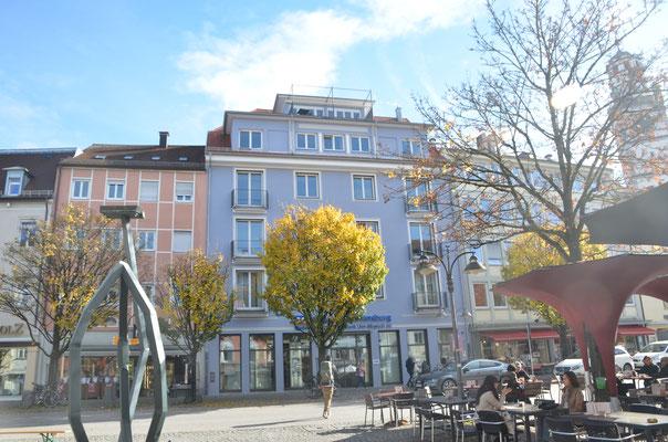Voklsbank Ravensburg, Masrienplatz 36 - Bild: Dr. Dietmar Hawran