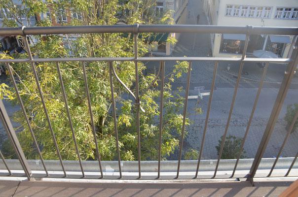 Bachstraße 36 - neu geschmiedetes Balkongeländer - Bild: Dr. Dietmar Hawran