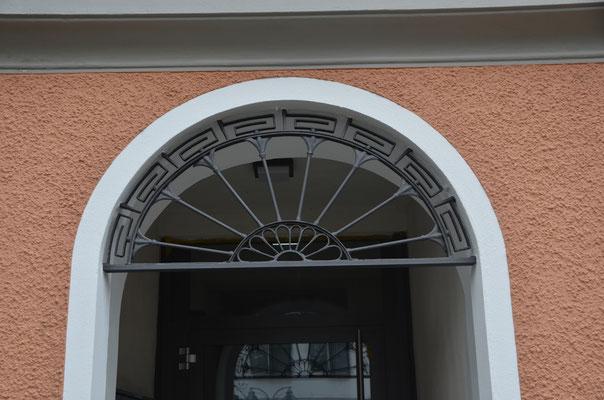 """alter""- neuer nach links verlegter Eingang - Bild Dr. Dietmar Hawran"
