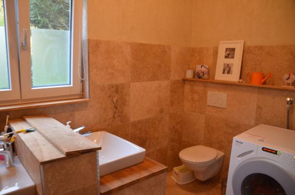 das Bad im Erdgeschoss - Bild: Dr. Dietmar Hawran