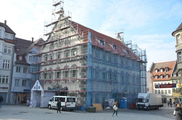 Lederhaus  von aussen, kurz vor der Fertigstellung - Bild: Dr. Deitmar Hawran