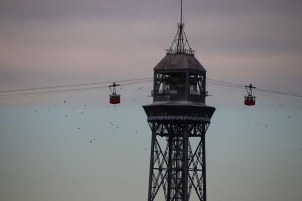 Hafen-Luftseilbahn Barcelona
