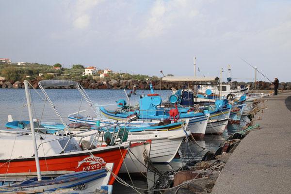 Fischerhafen von Agiorgitikon