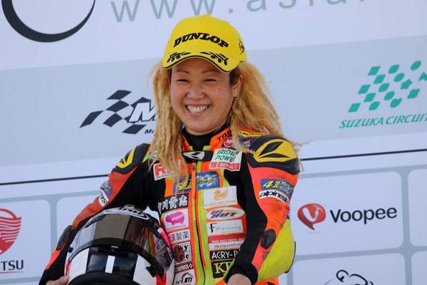 バイクレーサー高杉奈緒子選手