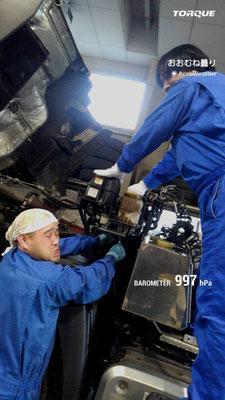 大金運輸 トラック整備