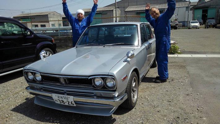 昭和の名車と大金運輸