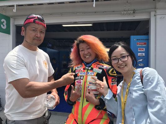 全日本ロードレース 高杉奈緒子