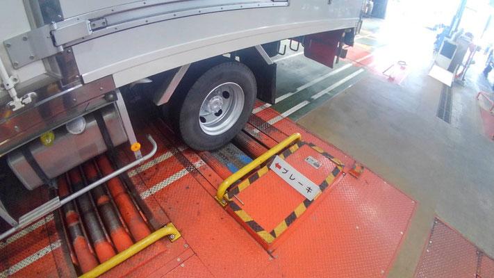 大金運輸 トラックの車検