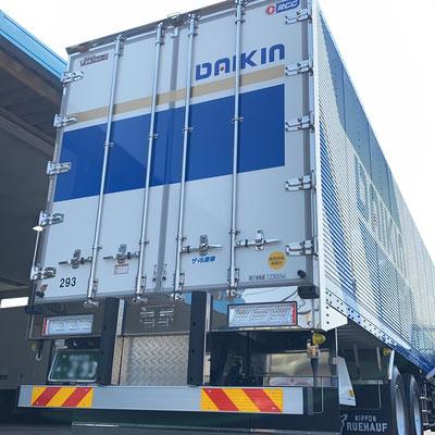 大金運輸 新しいトラック