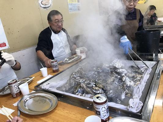 大金運輸牡蠣食べ放題