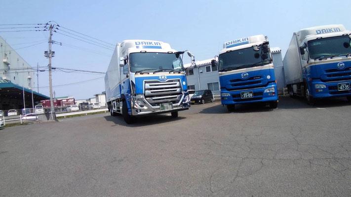 大金運輸北部支店 トラック新車