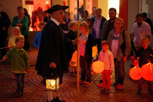 Nachtwächter-Stadtführung, Tourist-Information Waldshut, 2016