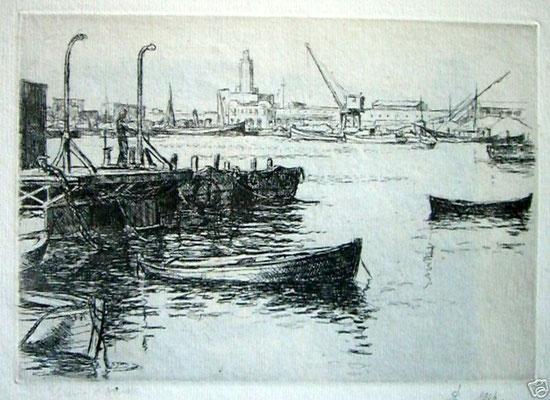 Port d'Alger,