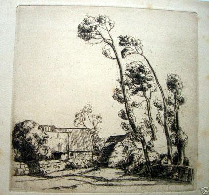 Hameau breton,