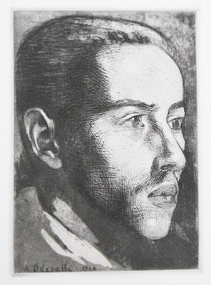 Portrait de jeune homme, 1908.