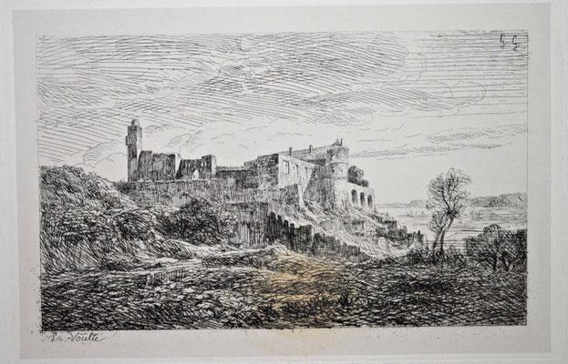 "Girardon,  ""Album Le Rhône"", La Voulte, 14 x 21"
