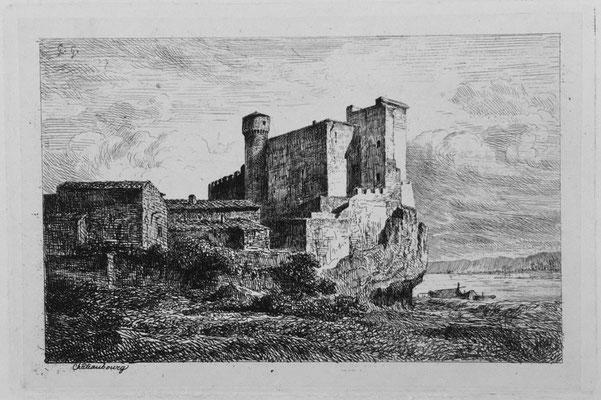 "Girardon,  ""Album Le Rhône"", Chateaubourg, 14 x 21"