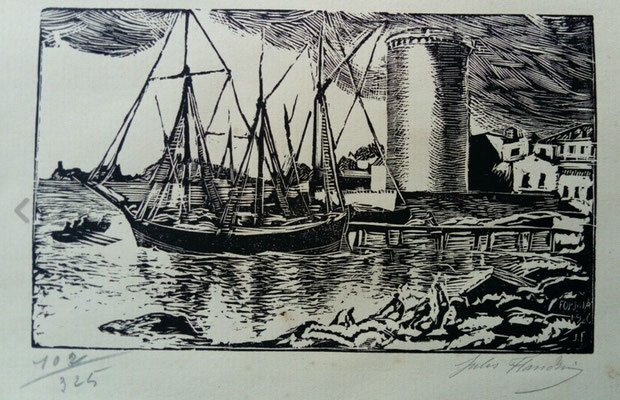 Formia, 1920, bois, 18,5 x 11