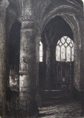 Abside de Saint-Germain l'Auxerrois, Revue de l'art ancien et moderne, 1906.