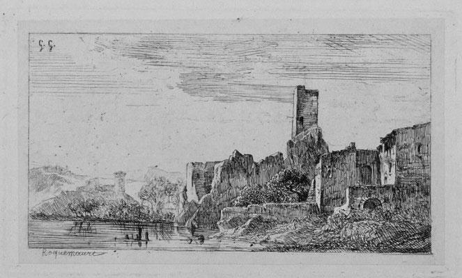 """Girardon,  """"Album Le Rhône"""", Roquemaure, 9 x 14"""
