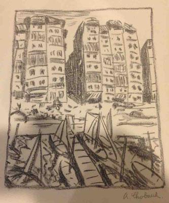 Chabaud, le port de Marseille,