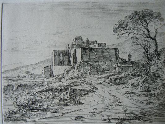 Girardon, Grignan, 1853