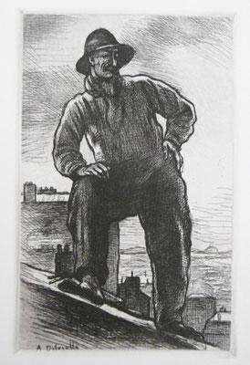 Le couvreur, 1910