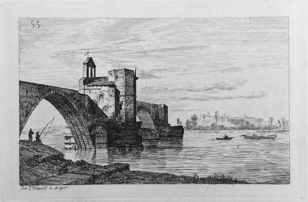 """Girardon,  """"Album Le Rhône"""", Avignon, 14 x 21"""
