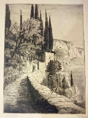 Bégule, Le chemin côtier, 60 ex, approx. 320x450