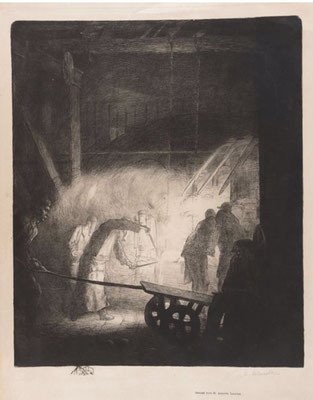 La forge, 1904.