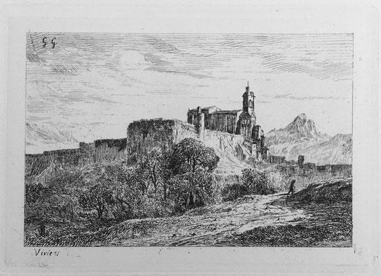 """Girardon,  """"Album Le Rhône"""", Viviers, 14 x 20"""