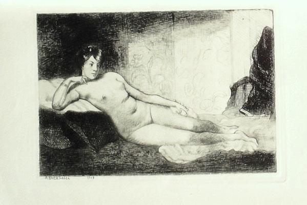 Le repos, Gazette des Beaux-Arts, 1909.