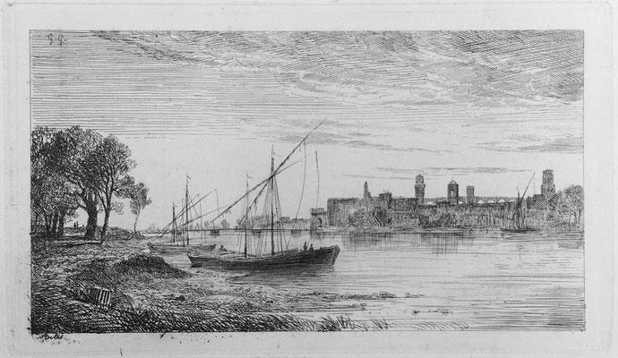 "Girardon,  ""Album Le Rhône"", Arles, 15 x 25"