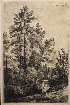 Guy, Paysage, 1874