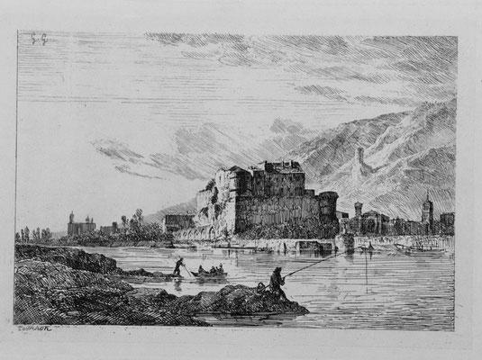 """Girardon,  """"Album Le Rhône"""", Tournon, 14 x 19"""