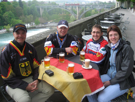 Good friends from Germany and Russia
