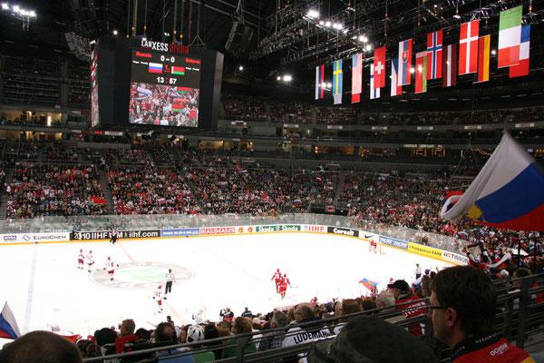 In der Köln-Arena