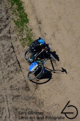 Rad von oben in der Niederlande