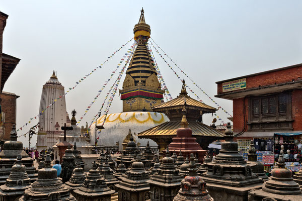 Kathmandu, Swayambhunath