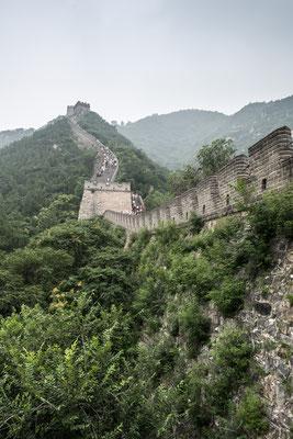 Grosse Mauer im Norden von Peking