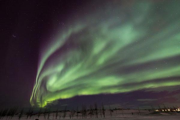 Hamar, Polarlichter