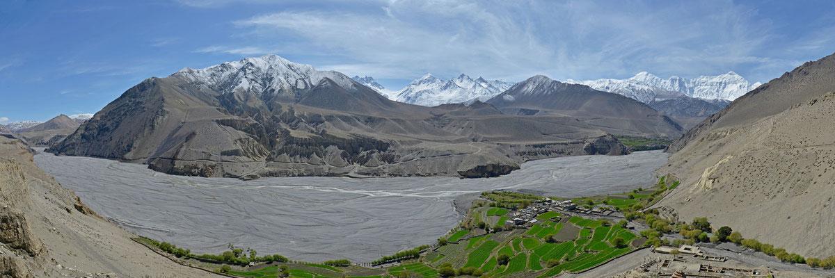 Tiri, Tal des Kali Gandaki