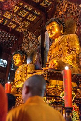Shanghai, im Jade-Buddha-Tempel