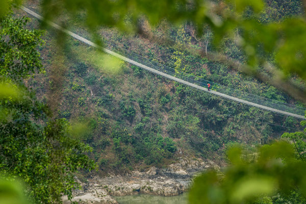 Unterwegs zwischen Kathmandu und Pokhara