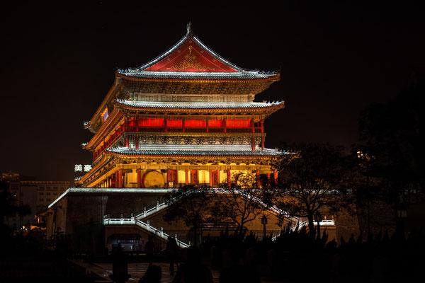 Xi'an, Trommelturm von 1380