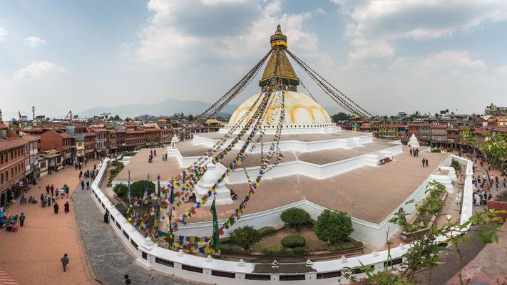 Kathmandu, Boudhanath