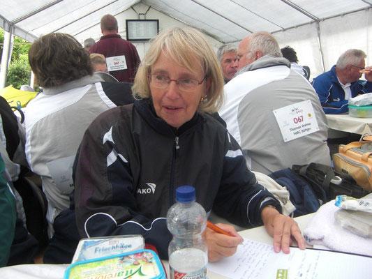 Birgit Stiebeling bei der täglichen Arbeit