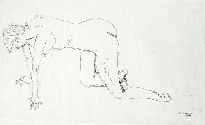 O.T., 2007, Bleistift auf Papier
