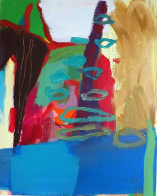 LUST AUF MEEHR, 2013, Acryl auf Leinwand, 40 x 50 cm