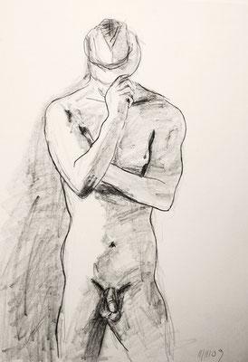 O.T., 2010, Bleistift auf Papier, 42 x 59 cm